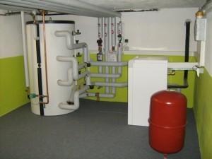 Gruntowa pompa ciepła - instalacja wewnętrzna
