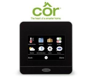 zdjecie cor-thermostat-menu-screen