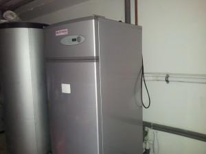 Powietrzna pompa ciepła - realizacja
